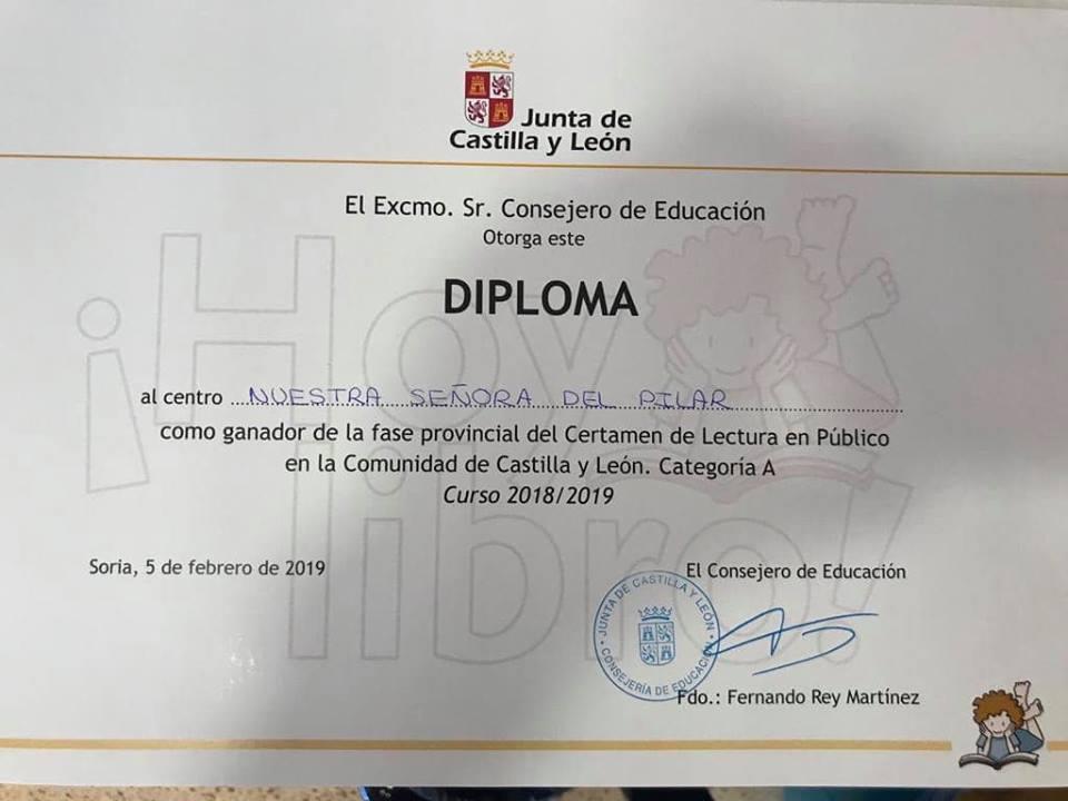 DIPLOMA LECTURA