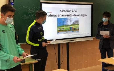 Los alumnos del Bachillerato de Innovación presentan sus primeros trabajos