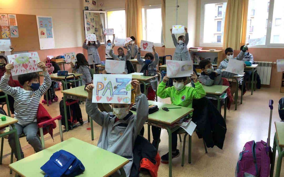 Reiniciar la educación para conseguir la paz
