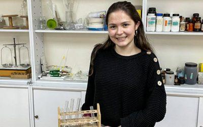 Patricia Rupérez, oro y plata en las Olimpiadas de Física y Química