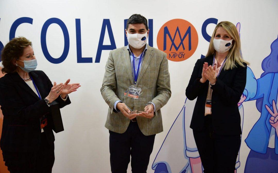 Premio para Óscar Abellón
